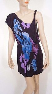Multi-Color Maxi Dress by Free People Floral Sleeveless Above Knee