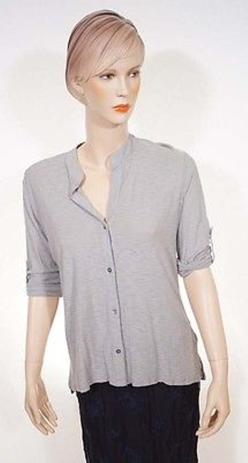 Preload https://img-static.tradesy.com/item/3388195/james-perse-wwg3063cu-womens-grey-button-down-34-sleeve-jersey-shirt-top-0-0-650-650.jpg