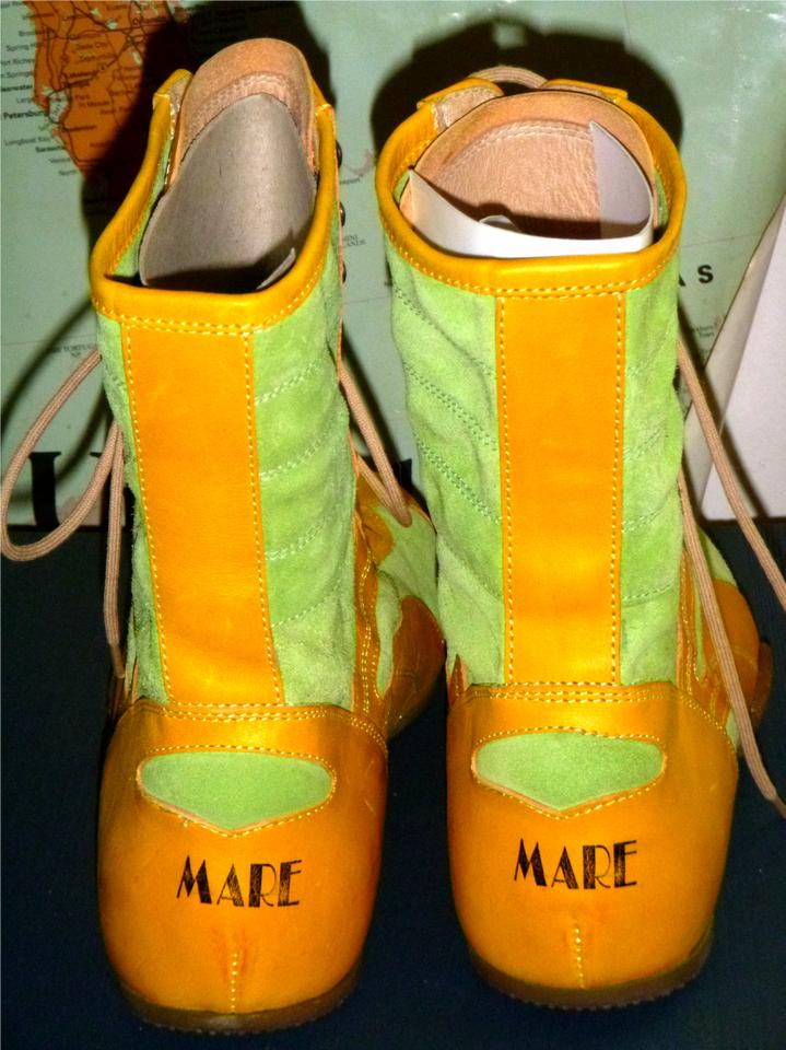 Lime Green Boxing Shoes