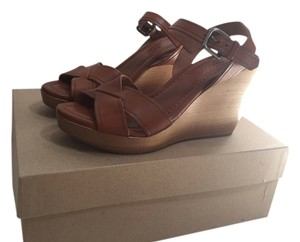 Madewell Leather Kindling (Tan) Wedges