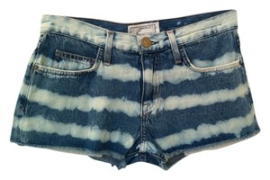 Current/Elliott Mini/Short Shorts Blue Denim