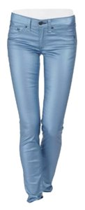 Rag & Bone & Metalic Jeans Skinny Pants Blue
