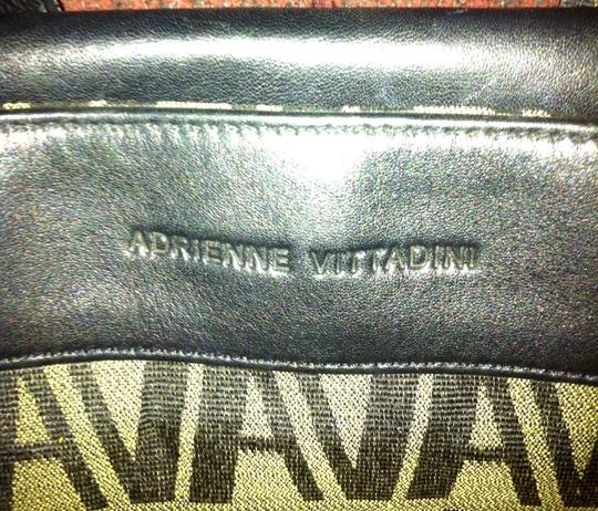 Adrienne Vittadini Olive/Black Travel Bag