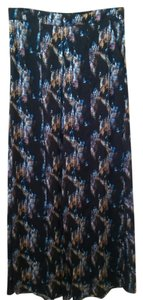 Theory Skirt Blue Multi