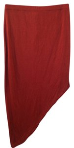 Helmut Lang Skirt Red