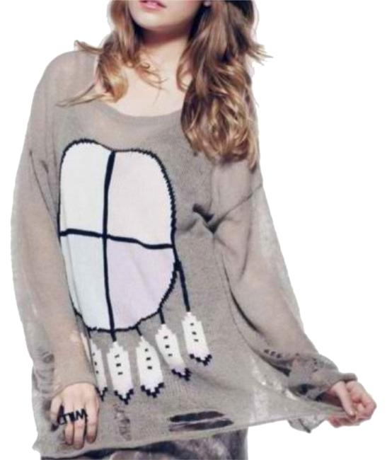 Preload https://item2.tradesy.com/images/wildfox-gray-airy-jumper-sweaterpullover-size-2-xs-3389296-0-0.jpg?width=400&height=650