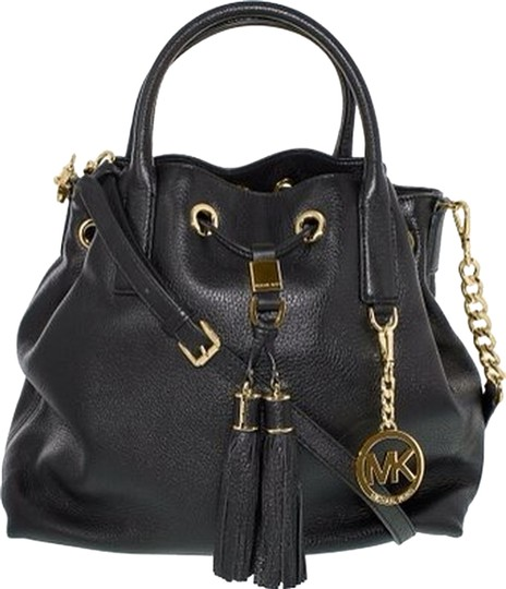 Preload https://item2.tradesy.com/images/michael-kors-black-leather-shoulder-bag-3389641-0-0.jpg?width=440&height=440