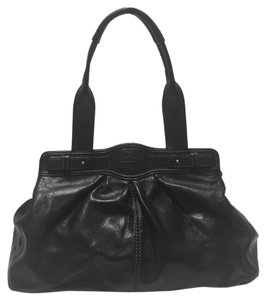 Coach Satchel Tote in Black