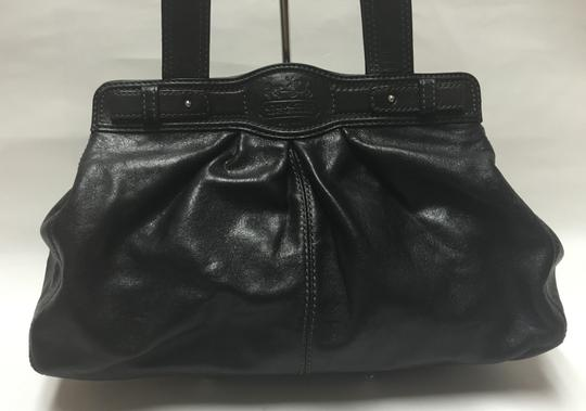 Coach Shoulder Satchel Tote in Black