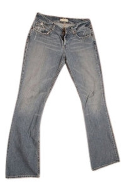 Preload https://item4.tradesy.com/images/bke-medium-blue-distressed-culture-19-style-boot-cut-jeans-size-30-6-m-33898-0-0.jpg?width=400&height=650