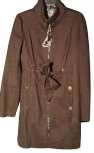 Tulle Military Green Trench Trench Coat