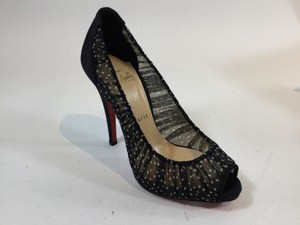 Christian Louboutin Black/White Pumps