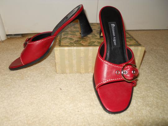 Etienne Aigner Leather red Sandals