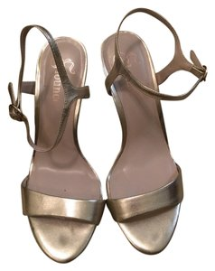 Other Gold Champagne Sandals