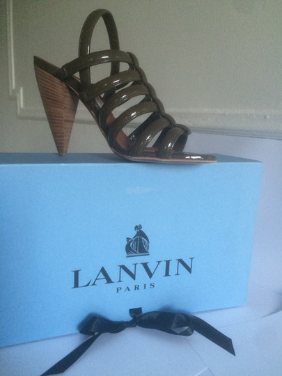 Lanvin Brown Pumps