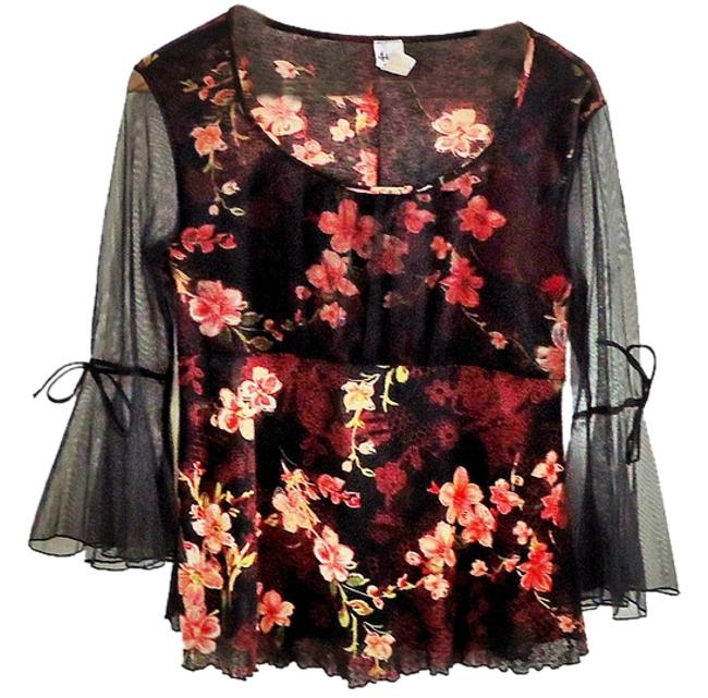 Preload https://item5.tradesy.com/images/floral-blouse-size-6-s-3390619-0-0.jpg?width=400&height=650