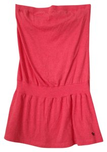 Abercrombie & Fitch Top Coral