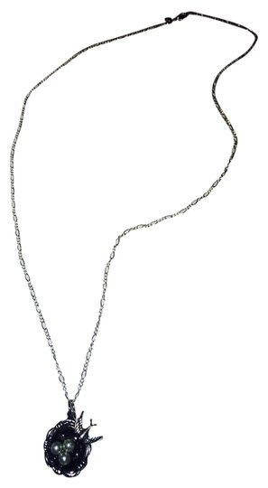 Other Bird's Nest Pearls Silver Chain