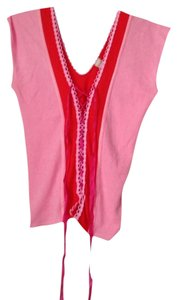 Petro Zillia Top Pink And Red