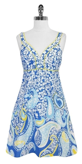 Preload https://item5.tradesy.com/images/lilly-pulitzer-blue-and-yellow-print-sleeveless-mini-short-casual-dress-size-4-s-3390889-0-0.jpg?width=400&height=650