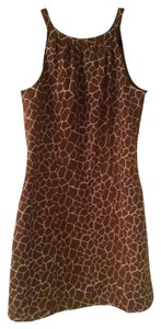 Merona short dress Giraffe Pattern on Tradesy