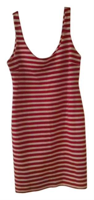 Zara short dress Red and White Stripes Nautical Candycane on Tradesy