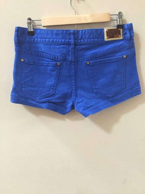 Express Denim Summer Spring Mini/Short Shorts Cobalt Blue