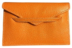 Other TUSK Orange Leather Card Holder