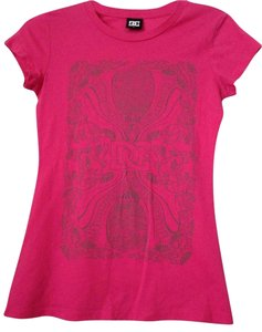 DC Shoes T Shirt Pink