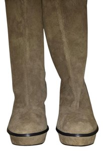 Calvin Klein Boot Suede Hollywood beige Boots
