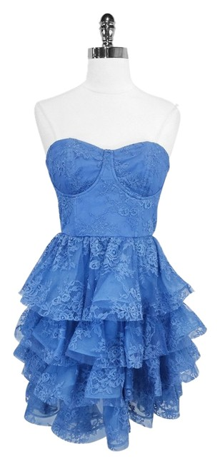 Preload https://item5.tradesy.com/images/alice-olivia-blue-easton-tiered-lace-strapless-mid-length-night-out-dress-size-8-m-3391279-0-0.jpg?width=400&height=650