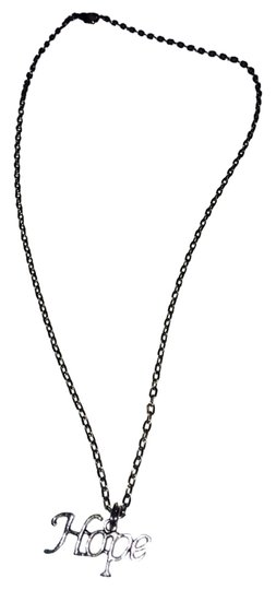 Preload https://img-static.tradesy.com/item/3391438/silver-hope-necklace-0-0-540-540.jpg