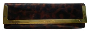 Tory Burch TORY BURCH LEOPARD PRINT EYEGLASS OR SUNGLASS CASE