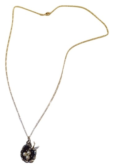 Other Bird's Nest On Sterling Silver Chain