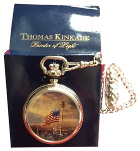 Thomas Kinkade Thomas Kinkade Painter Of Light Pocket Watch