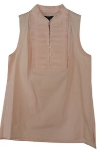 J.Crew Wear To Work Polished Casual Weekend Wear Preppy Classic Top Pale pink