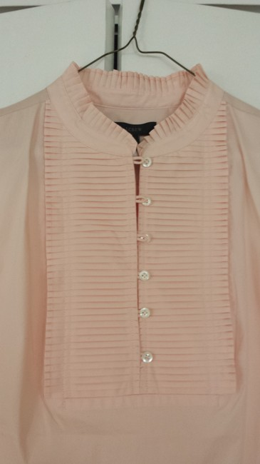 J.Crew Wear To Work Polished Casual Preppy Classic Top Blush pink