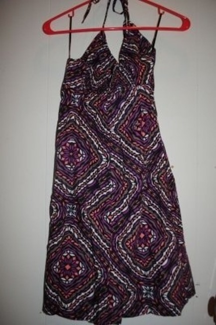 H&M short dress Purple Multi on Tradesy