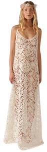 Delphine Manivet Guipure Lace Open Back Dress