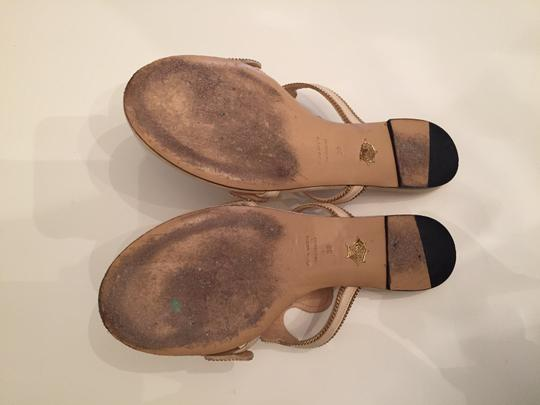Charlotte Olympia Flat Next Day Shipping beige Sandals