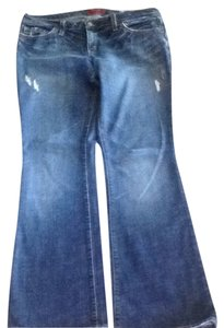 Blue Cult Flare Leg Jeans-Medium Wash