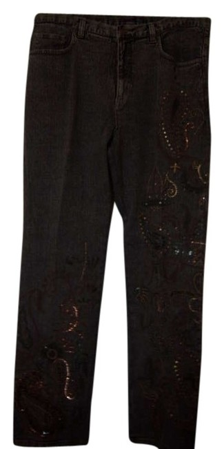 Preload https://item3.tradesy.com/images/chico-s-blackash-grey-brown-acid-paisley-art-boot-cut-jeans-size-35-14-l-339312-0-0.jpg?width=400&height=650