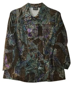 Chico's Floral Jacket