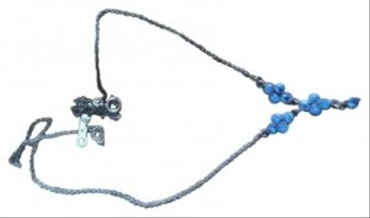 Preload https://img-static.tradesy.com/item/33937/blue-stone-and-silver-necklace-0-0-540-540.jpg
