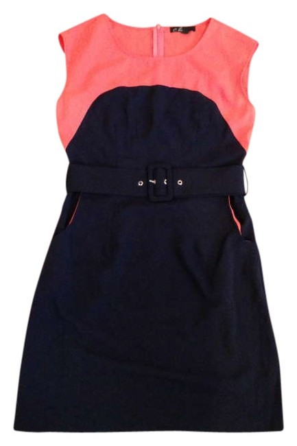 Preload https://item4.tradesy.com/images/c-luce-dress-navy-and-salmon-339408-0-0.jpg?width=400&height=650