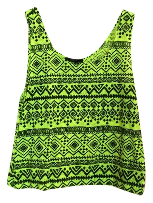 Forever 21 Top Neon Green