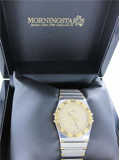 Omega GENTS OMEGA CONSTELLATION WATCH 18K GOLD + STAINLESS STEEL TWO TONE MENS