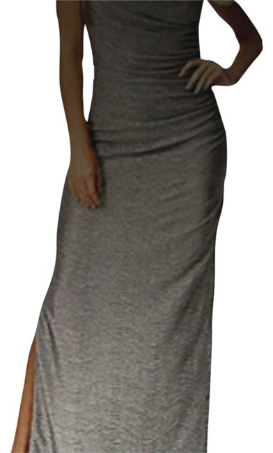 Item - Silver Null Long Formal Dress Size 2 (XS)