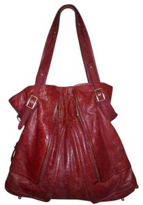 Kooba Hobo Tote in burgandy