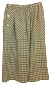 Carven Skirt Tan, White